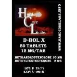 D-bolX 50 tabs